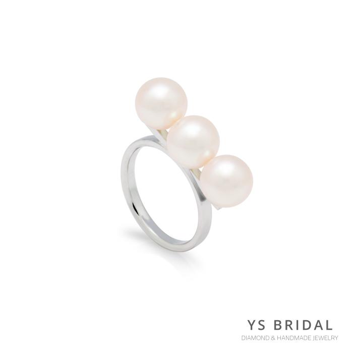 珠寶訂做-極簡日本珍珠戒指