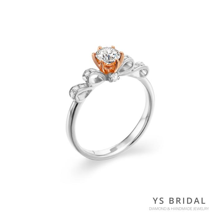 求婚鑽戒-輕奢華鉑金、玫瑰金鑽戒