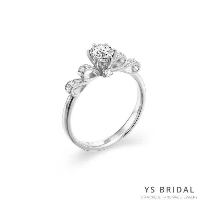 求婚鑽戒-古典輕奢華鉑金鑽戒